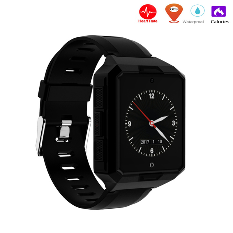 1.54inch fashion square Smart watch M9 Touch Screen 2MP camera with sim card slot Bluetooth smartwatch for Android IOS Phone