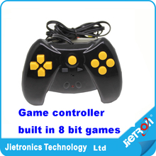 New design Kids Children Classical Game Players controller built in 50 games with 1.2M AV cable handheld game console controller