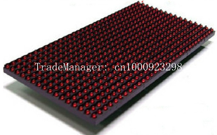 P10 Semi-Outdoor Single Red Color Led Panel Display Module