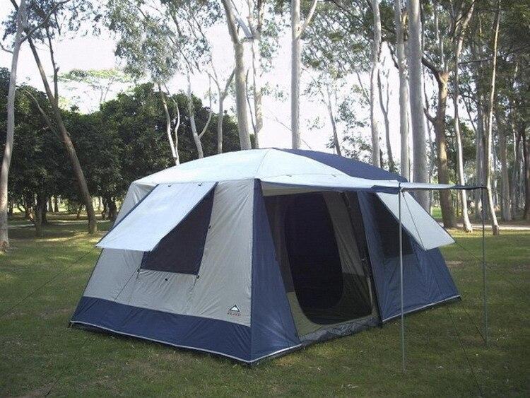 forte impermeável à prova de vento acampamento barraca de festa de família