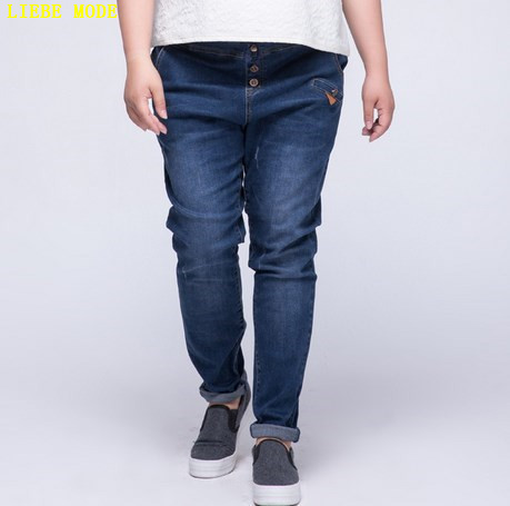 Classic Style Straight Jeans Women High Waist Jeans Female Elastic Plus Size Denim Pants Trousers Good Quality Femme Jeans 7XL the explosion of the classic all match solid colored body hip high elastic denim pants feet female winter bag mail