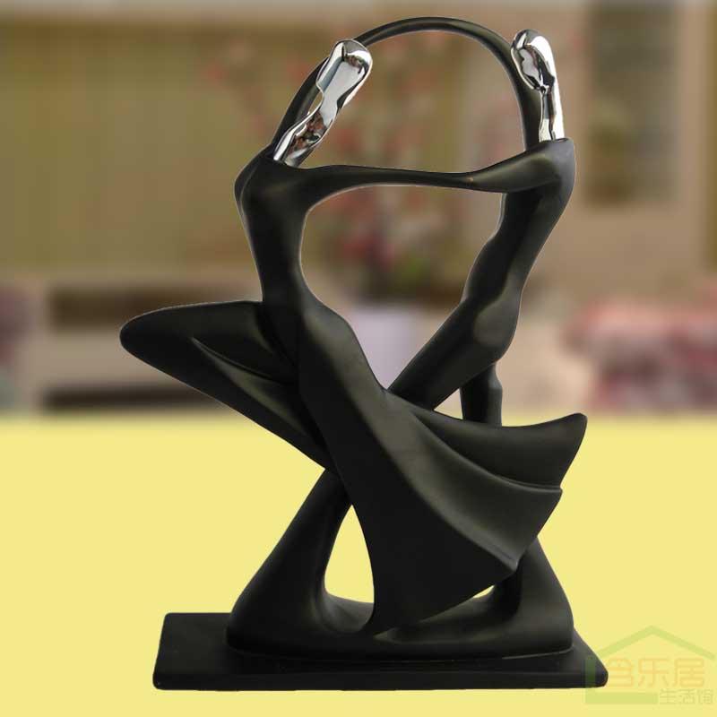 Figuras abstractas bailando las parejas casadas adornos - Figuras decorativas modernas salon ...
