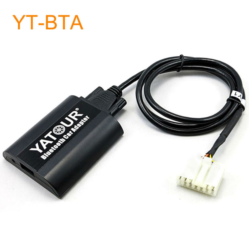 Yatour Car Bluetooth Adapter Kit for Head Unit Radio for Toyota 4Runner Tundra Avalon Avensis Camry Carina Coaster Corolla new car ac compressor 88320 36560 88320 36530 for toyota coaster bus 7pk 10p30c