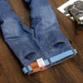 2016 jeans masculino Famous Brand Men Jeans Cotton Denim  skinny jeans men Washed Summer Autumn  Jeans plus Size:28~40