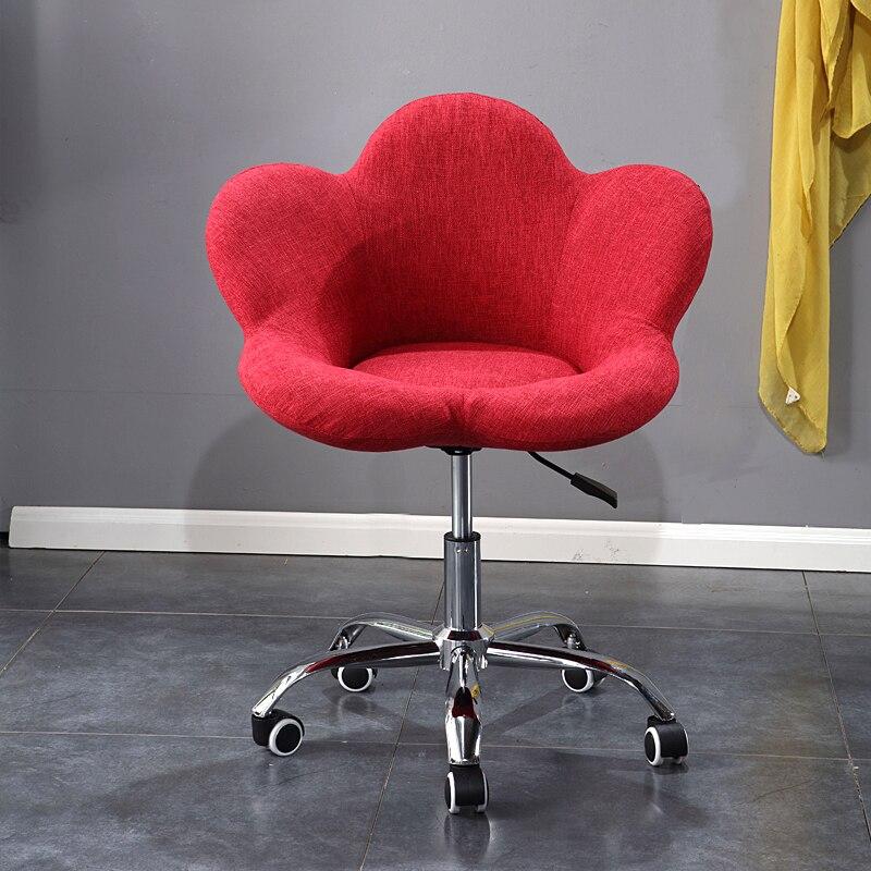 Pouf balcon chambre chaise adulte mignon unique petit loisir ordinateur chaise et tabouret amovible disque de levage chambre chaise