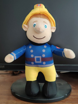 Высокое качество 25 см Пожарный Сэм чучела животные плюшевая Детская кукла Подарочная игрушка