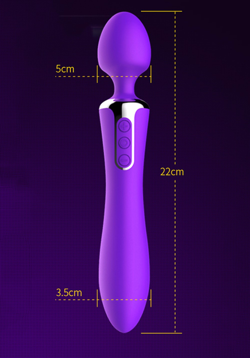 Leten Rechargeable AV Sex Toys Dual Function Intelligent Heating Silicone Body Massage Vibrators For Women Magic Wand Massager 11