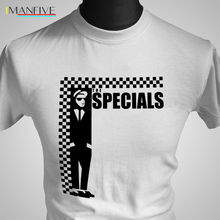 The Specials Retro T Shirt Music Ska Reggae Two Tone Fun Boy Three Cool Vintage colour jurney Print t shirt two tone geo print headband