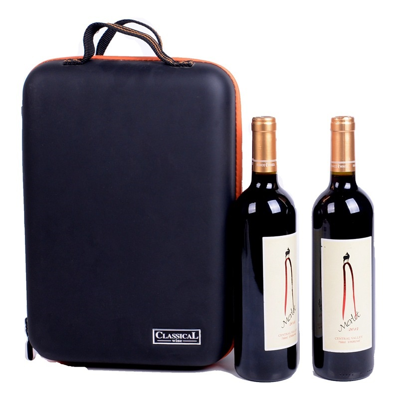 2019 New Arrival Wine Bottle Freezer Bag Chilling Cooler Ice Bag Beer Cooling EVA Holder Carrier Portable Shockproof Wine Bags