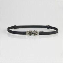 2016 New Fashion Accessories Decorative Patent Leather Dress  thin belt girdle belt female belts for women