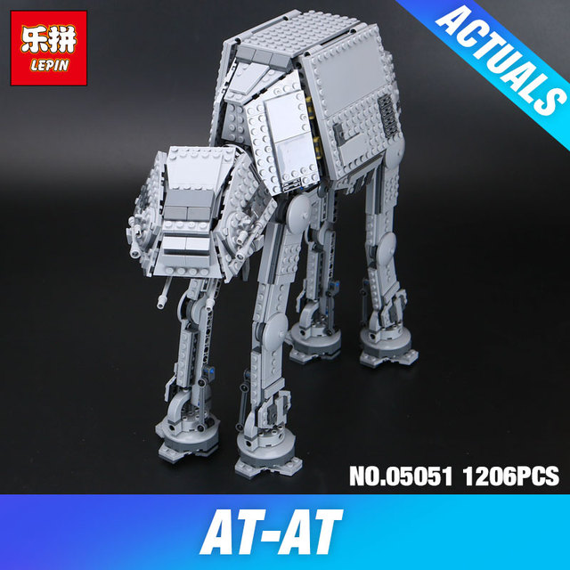 Star War Series Force Awaken The AT-AT Building Blocks Bricks