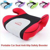 2017 New Portable Car Seat Anti Slip Safety Booster Car Seat Comfortable Travel Booster Seats For