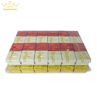 Wholesale 48pcs Card Board 3 Colors Jewelry Display Box Ring Box Earrings 5*5*3.3cm Packaging Gift Box Free Shipping