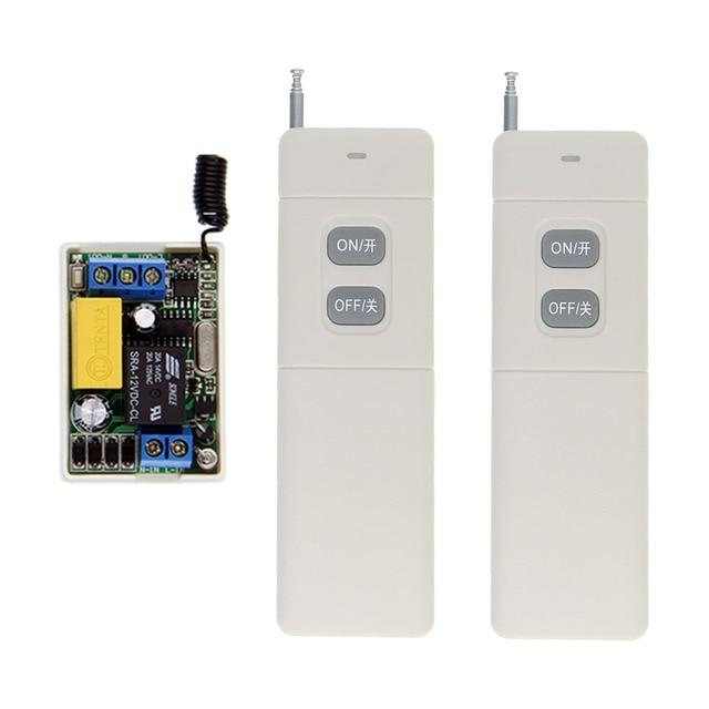 3000 м переменный ток 220 в 1 канал 1 канал реле радиочастотный переключатель дистанционного управления 2 канала передатчик + мини 10а приемник 315/ 433, межблокировка