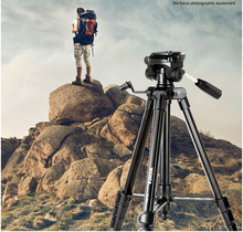 W824Skilled Moveable tripod for DV digital camera single tripode gentle mount stand equipment tripe