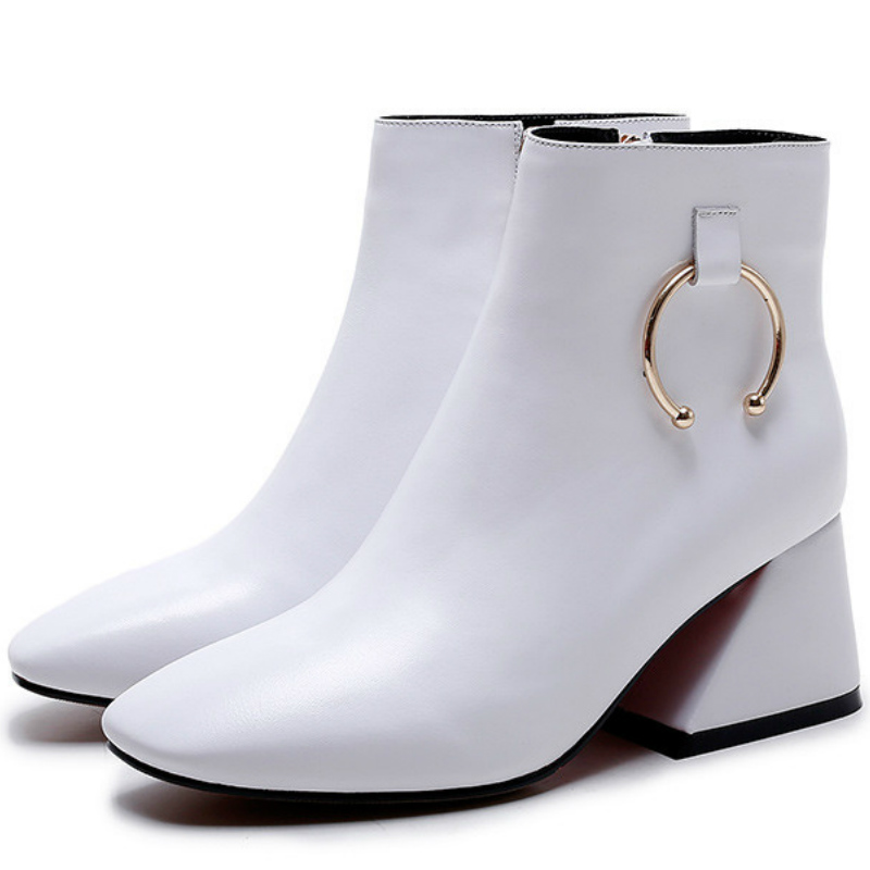 Popular White Shoe Boots-Buy Cheap White Shoe Boots lots from ...