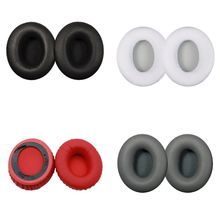 1 Pair Earphone Ear Pads Earpads Sponge Soft Foam Cushion Cups Replacement forMonster Beats By Dr Dre Solo & Solo HD Headphone 1 pair replacement sponge ear pads headphone cushion for beats by dr dre studio 2 0 headset sponge cover headphone accessories