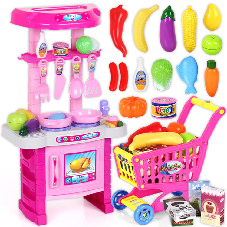 Buy lchildren 39 s toyskitchen cooking for Kitchen set for babies