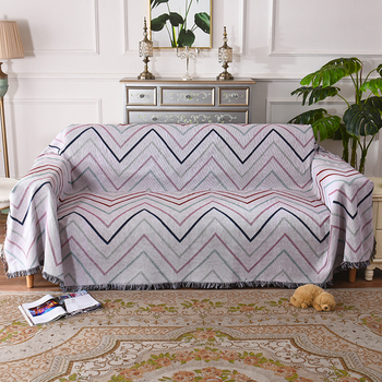 Nordic style Slipcover Stretch Four Season Sofa Covers Furniture Protector Cotton Blends Loveseat Couch Cover Sofa Towel