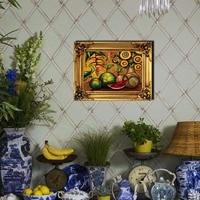 Wall art Холст Картина Фрукты арбуз на холсте без рамки украшения дома плакат украшение гостиной