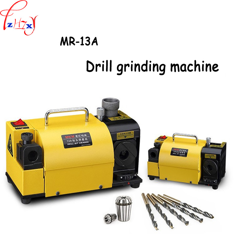 MR 13A Drill Bit Sharpener Drill Grinder Grinding Machine portable carbide tools 2 13mm 100 135Angle