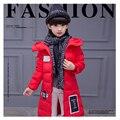 Algodón de la muchacha del abrigo de otoño e invierno en Europa y el Estados unidos en la larga sección gruesa de algodón largo ropa