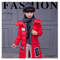 Girl's cotton coat autumn and winter in Europe and the United States in the long thick section of long cotton clothing