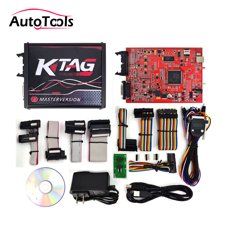 цена на Newest V7.020 KTAG V2.47 No Token Limited ECU chip programmer K-tag 7.020 master version ECU Chip Tuning Tool