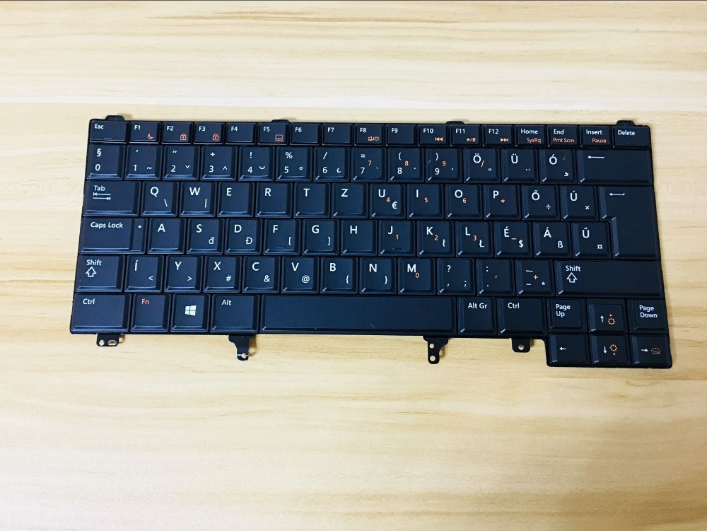 Nouveau clavier pour Dell Latitude E5420 E5420m E5430 E6440 E6220 E6230 E6320 rétro-éclairé disposition Hongrois