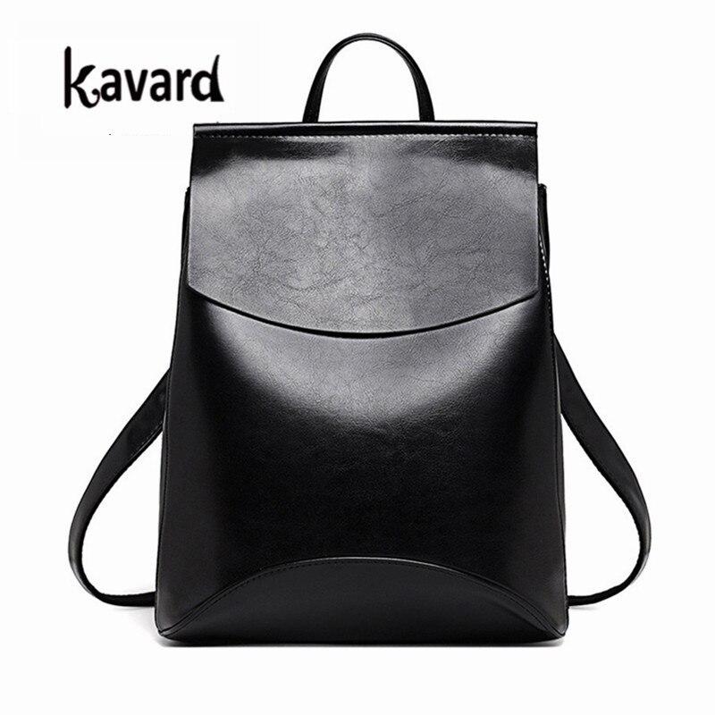Kavard испанский бренд 2017 Дизайн PU Для женщин кожа Рюкзаки школьная сумка рюкзак студент дамы Для женщин Сумки кожа Вышивка Крестом Пакет женский