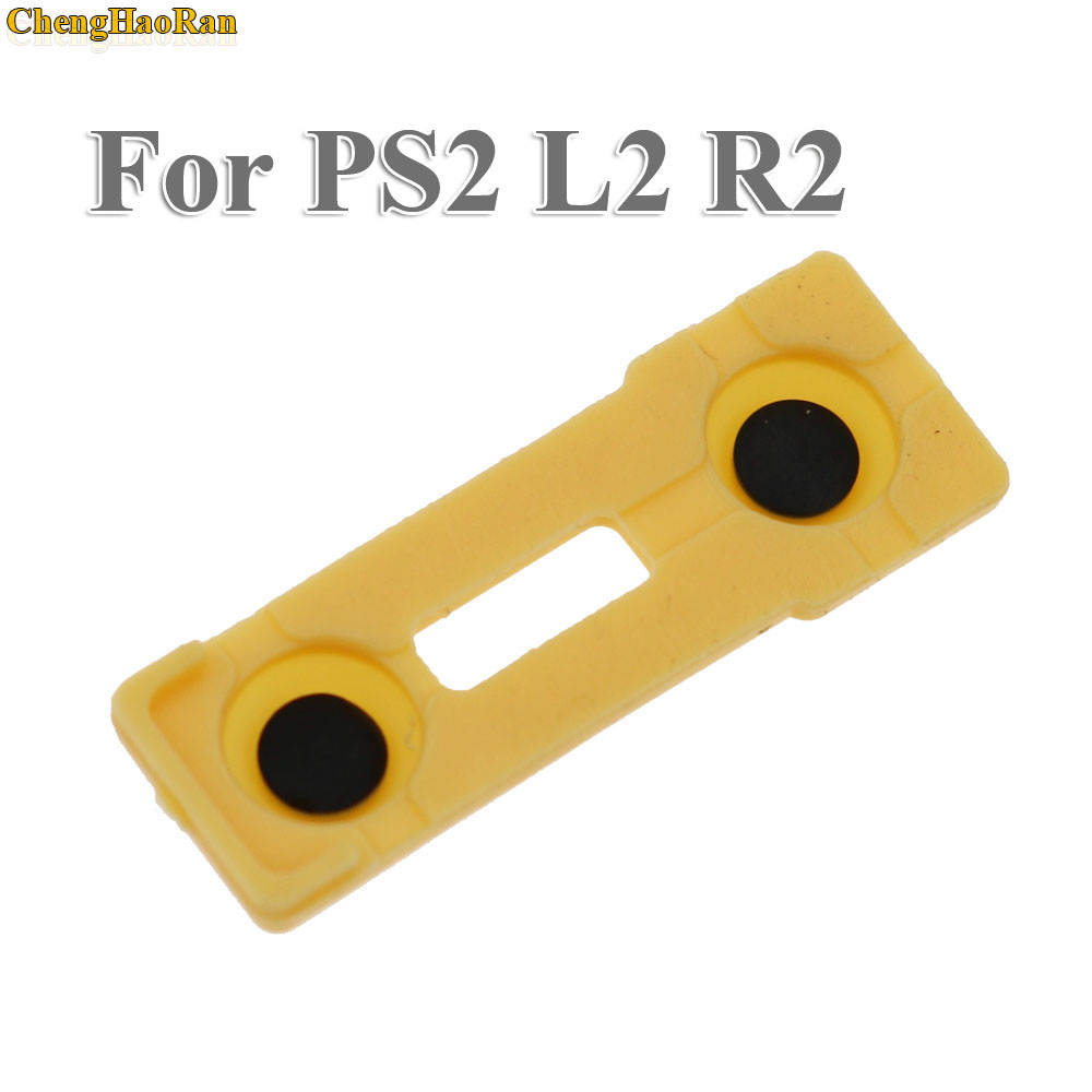 Image 5 - ChengHaoRan 100x Replacement Silicone Rubber Conductive Pads R2 L2 buttons Touches For Playstation 2 Controller PS2 Repair Parts-in Replacement Parts & Accessories from Consumer Electronics