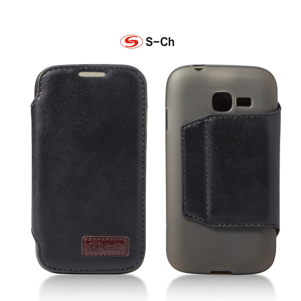 US $1.51 11% OFF|For Samsung Galaxy Star Plus Pro GT S7262 S7260 S7262 TPU Phone Case Flip Cover Durable Faux Leather with Card Holders|case for