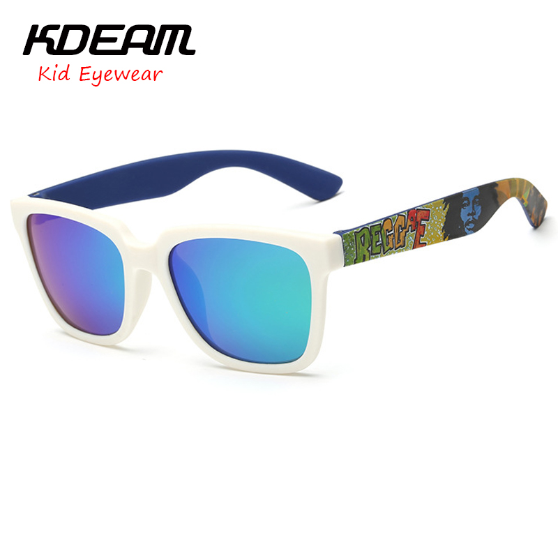 d6878bc374 KDEAM Young people eyewear Sport Sunglasses HD Polarized TR90 frame  Children Sun Glasses 6 colors UV400