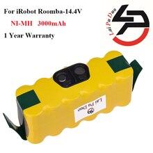 14.4 В 3.0Ah Высокое Качество Аккумулятор для iRobot Roomba 500 560 530 510 562 550 570 500 581 610 770 760 780 790 880 робототехники