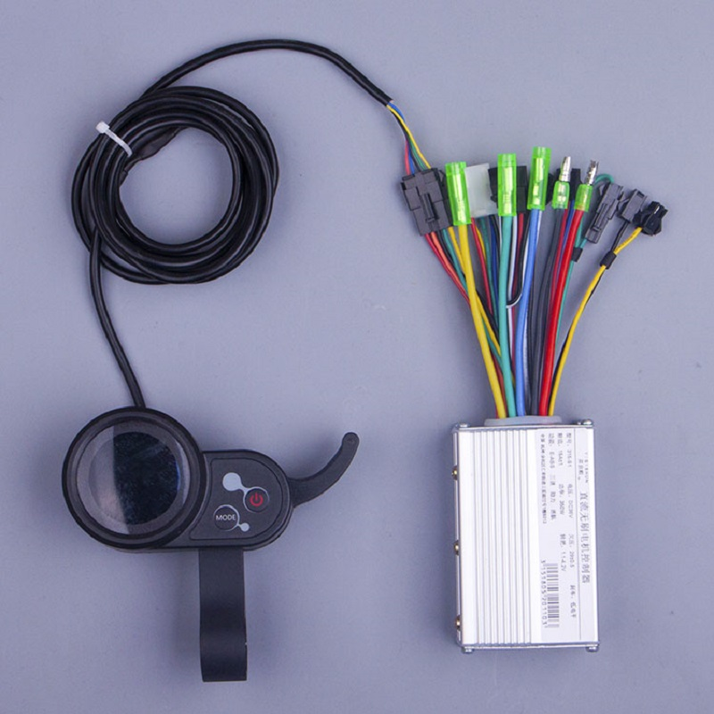 0.3 E bike conversion kit 250W 350w 24V 36V 48V DC Mode e scooter Brushless Motor Controller with electric bike LCD цена