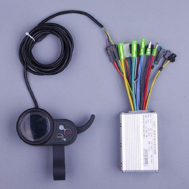 S890 Байк, способный преодолевать Броды conversion kit 250 W 350 W 24 V 36 V 48 V DC режим электронной скутер регулятор бесщеточного двигателя с Электрический велосипед ЖК-дисплей