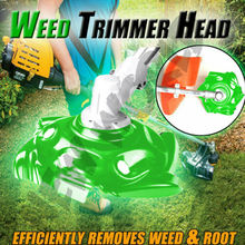 Green Weed Trimmer Head Lawn Mower Sharpener Weed Trimmer Head for Power Lawn Trimmer 2019 New weed control study in rainy green gram vigna radiata l wilczek