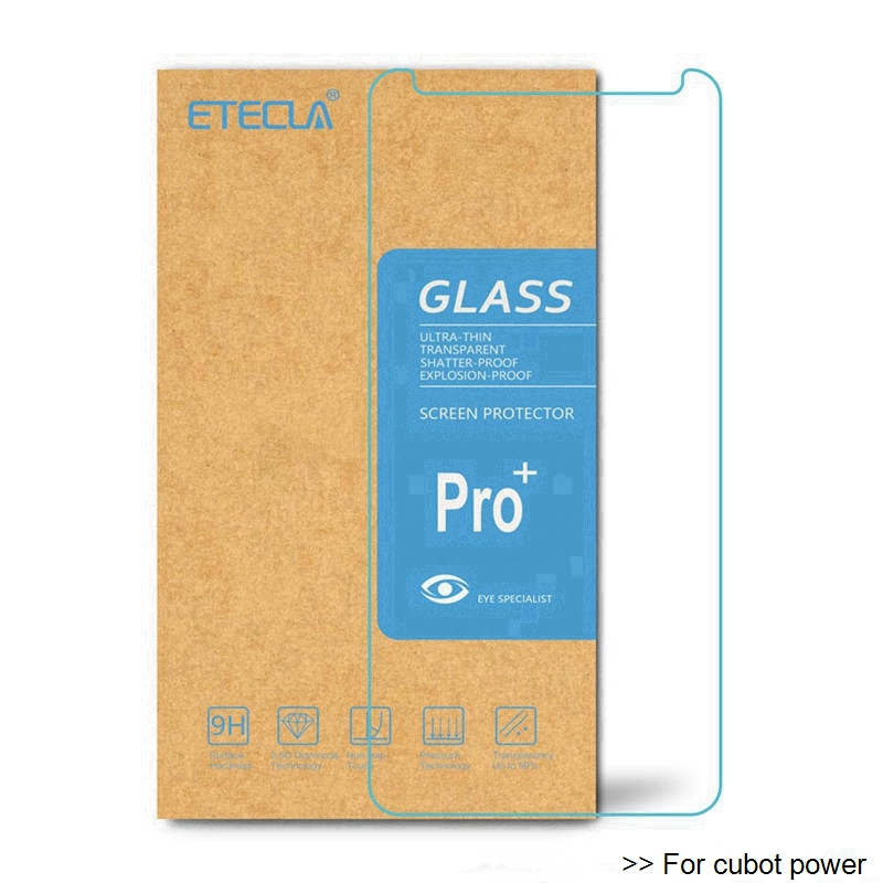 2PCS For Cubot Power Tempered Glass On Cubot Power Glass Cubot Power Screen Protector Glass Premium Protective HD Film