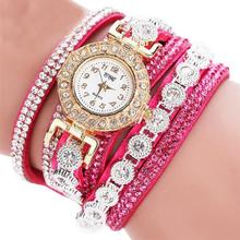 Women Fashion Casual AnalogQuartz Women Rhinestone Watch Bracelet Watch Gift  Dropshipping High Quality A25