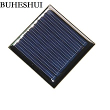 BUHESHUI 0.25Watt 5V Mini Solar Cell Polycrystalline Solar Panel Solar Module DIY Solar Charger Epoxy Education 45*45MM 20pcs