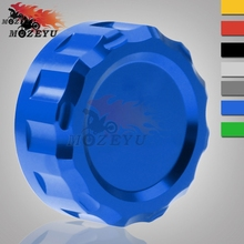 Motorcycle CNC Cylinder Reservoir Cover billet Rear Brake Fluid Cap For Yamaha MT-03 MT 03 MT03 MT-07 MT-09