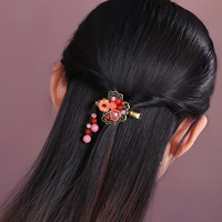 Hair Charm Chinese Style Women Vintage Bridal Accessories Woman Gift Wedding Hair Clip Head Chain