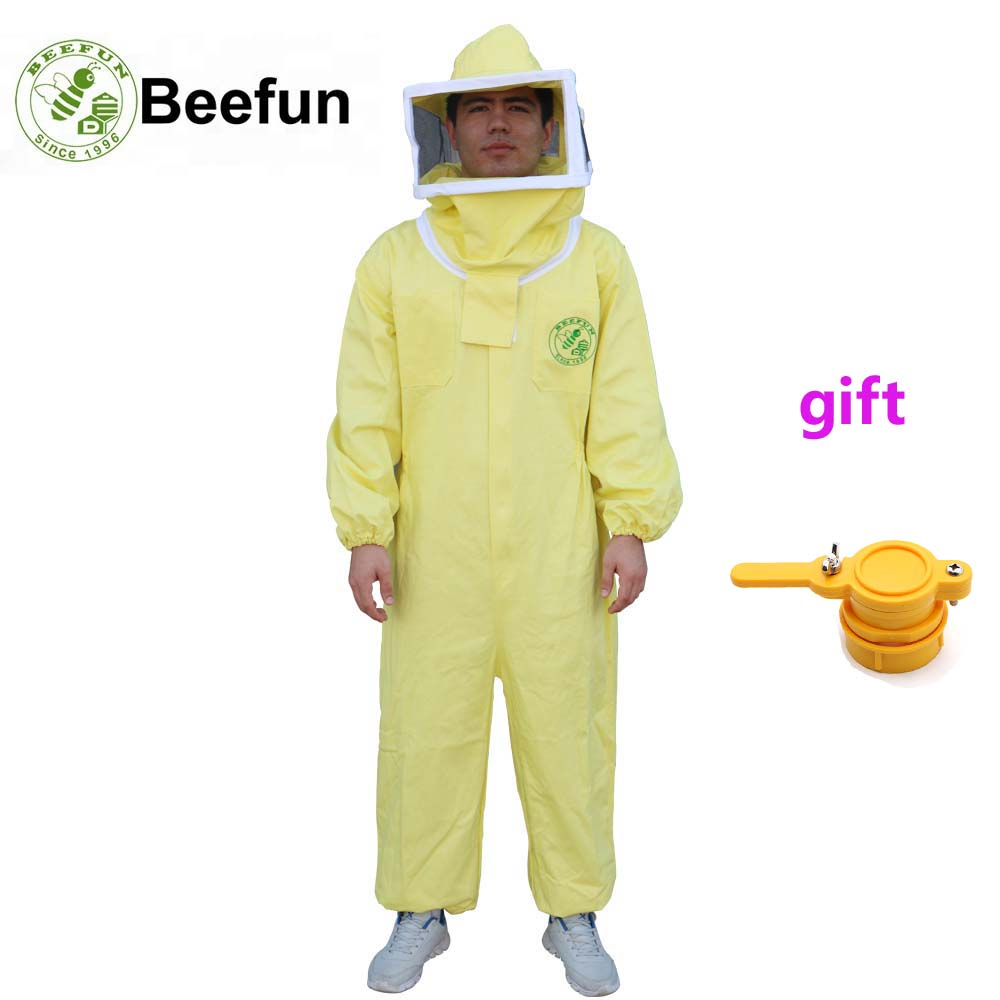 c46fbdac8f 2018-New-Beefun-Beekeeping-Suit-Yellow-Jumpsuits-Protective-Clothing-With-Square-Veil-Women-Men-Long-Sleeve.jpg