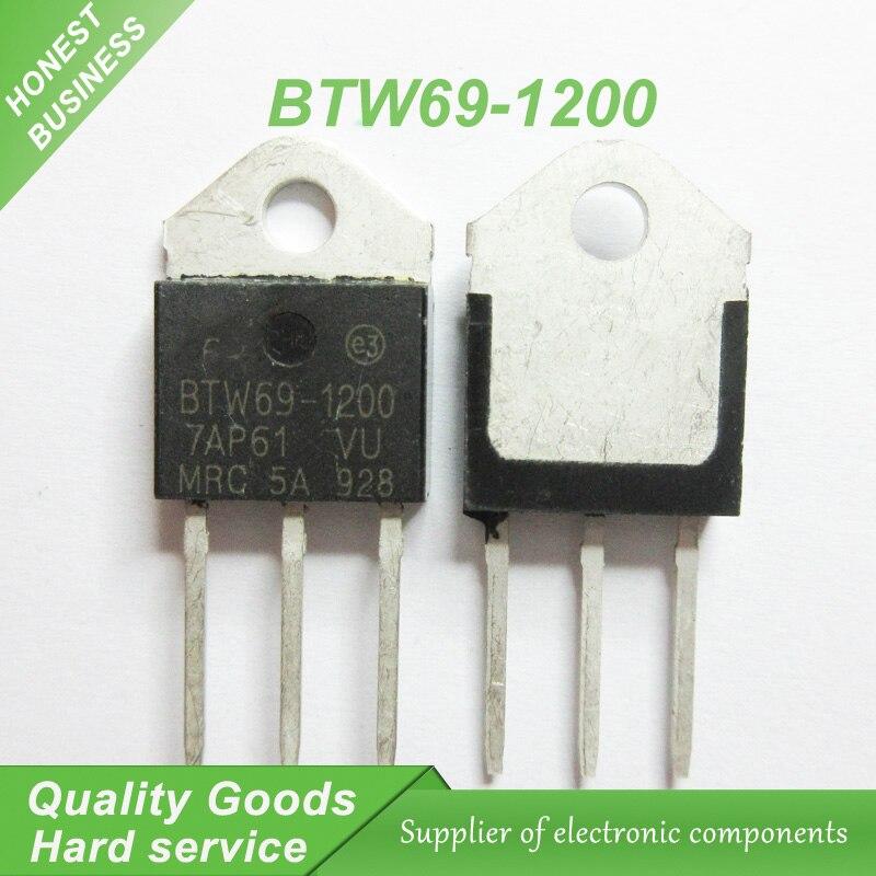 5pcs/lot BTW69-1200 BTW691200 1200V SCR TO-3P New Original