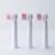 3 Unids/pack BLYL Rotación Cepillos de Dientes Cabezas de cepillo de Dientes para niños Cepillo de Dientes Eléctrico Cabeza de repuesto Oral Higiene de manos