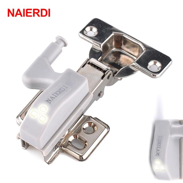Elegant NAIERDI 10PCS Universal LED Cabinet Light Hinge Sensor Light Cupboard Inner  Hinges Lamp Kitchen Bedroom Wardrobe