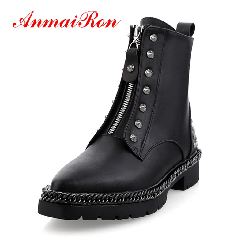 2018 Bottes Anmairon Pour Zapatos Pointu 39 Taille 34 Mujer Bout Bottines Mode Ly219 Femmes De D'hiver Black Base qxYfxrz7