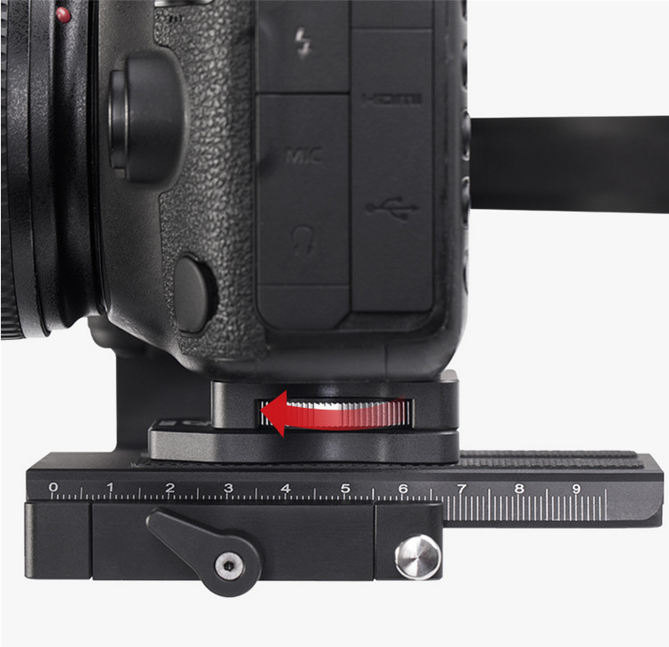 DJI Ronin S Handheld Gimbal Stabilizer Increased Pad Riser Board Quick Release QR Plate for Zhiyun Crane 2 Gimbal Accessories 2
