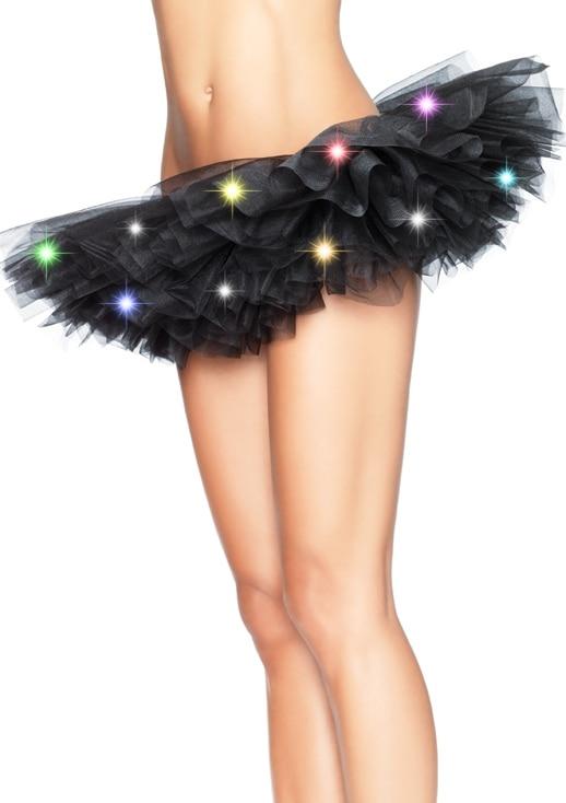 PLUS SIZE Led Pettiskirt Female Sexy Mini Tutu Skirts Led Decoration For Sexy Skirt