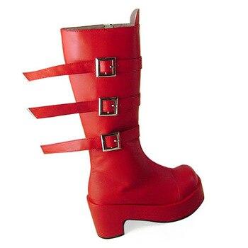 Princess sweet lolita shose loliloliyoyo antaina gothic lolita boots custom Cos perona boots c128  cosplay shoes